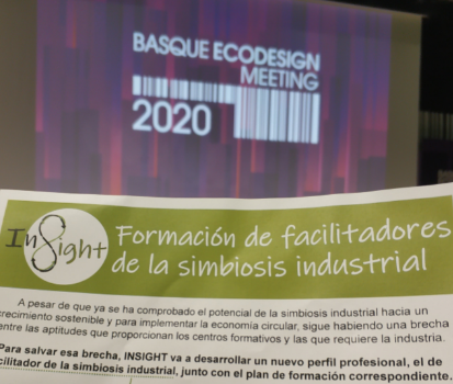 "Our Spanish partner CETEM attended ""The Basque Ecodesign Meeting 2020"" in Bilbao"